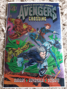 AVENGERS THE CROSSING Rare Foil Variant