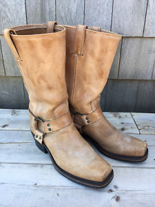 Classic FRYE Harness mid-calf boots, Size 9 (womens)