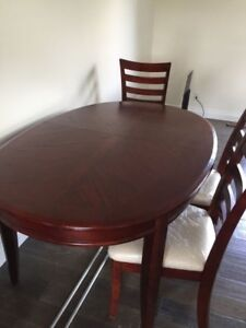 Dining Set and Buffet/Hutch
