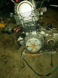 yamaha Sr motorcycle motor 250cc