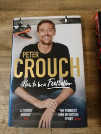 Comics and Peter Crouch book