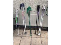 Ski poles bargain