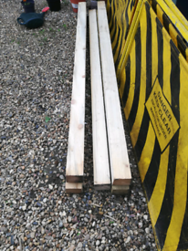 New 4x4 wooden posts