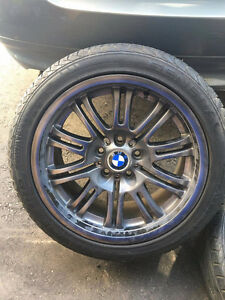 18in OEM BMW rims with tires