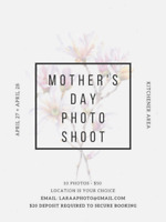 Mother's Day Photography!