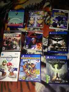 9 Video Games for sale in bundles.