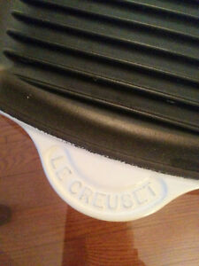 Brand New Le Creuset 10 inch square Grill Pan London Ontario image 3