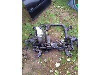 Astra h Sri 2007 1.9 cdti z19dth subframe with lots of other parts on it 07594145438