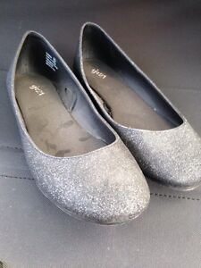 Sparkle flats to dress up in comfort