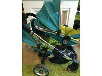 iCandy dual double buggy pushchair pram