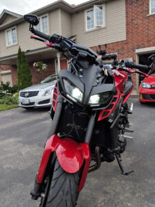 2017 Yamaha FZ-09 / MT-09 for sale - with upgrades