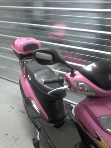 Pink ebike only four years old
