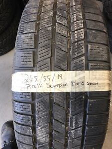 Winter tires 265-55-19