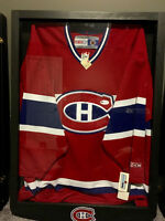 Signed Montreal Canadian Jersey