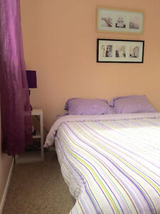 1 bedroom for rent in a very clean, quiet & smoke-free home