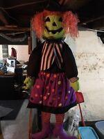 Halloween- door decor- witch