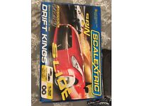 Scalextric spin and slide drift kings Remote controlled car race track ar