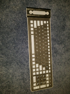 Wireless silicone water proof keyboard