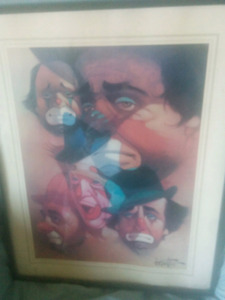 Vintage collectable Art,