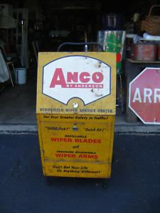 Antique gros présentoir Anco
