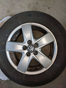 Volkswagen Rims with All-Season Tires