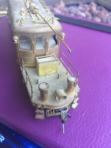 Beautiful four wheeled brass locomotive crafted bye Orion  London Ontario image 3