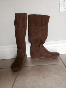 Brown boots - Women's Size 6 - Brand New, Never Worn - $30
