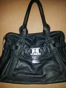 Large black full leather never used