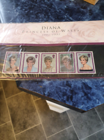 Princess Diana memorial stamps