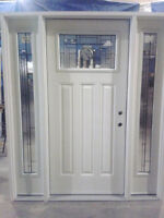 New Windows and Exterior Doors at Bryan's Auction