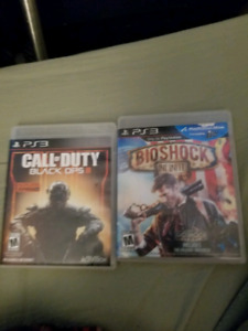 COD Black Ops 3 and Bioshock infinite for PS3 $5