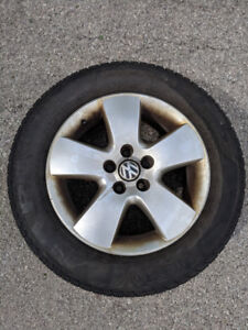 2003 Jetta rims (4 rims) only (tires no good)