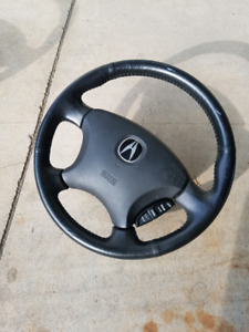 Acura steering wheel with airbag