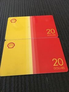 Two 20$ Shell Gift Cards Sarnia Sarnia Area image 1