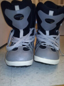 Snowboard Boots size 8.5 Helmets M,S Jackets and Pants