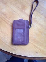 Cell phone holder and wallet