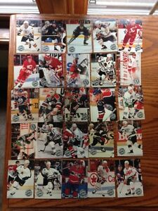 For Sale: Pro Set 1991-92 Platinum Hockey Cards Sarnia Sarnia Area image 1