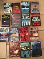 15 HARD COVER assorted books for sale