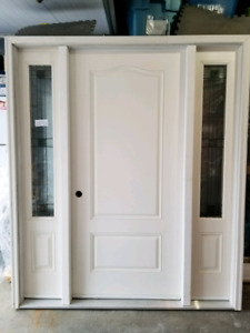 "34"" New Fiberglass Entry Door"