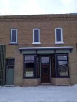 Commercial Space with Apartment for Sale in Indian Head