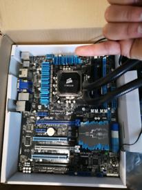 i7 CPU, Corsair cooler, Motherboard, 24GB Ram Bundle