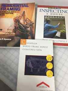 3 Books Inspecting House - Construction - Residential Framing