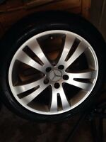 Mercedes-Benz C-Class CLA250 Winter Rims 225/45/17 Pirelli