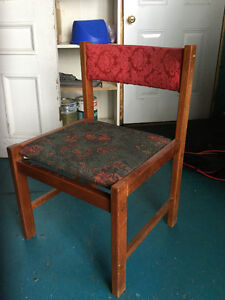 Chaise vintage midcentury scandinave