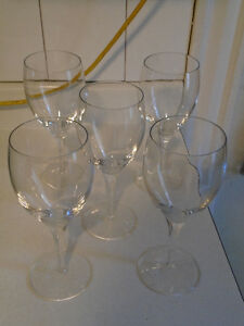 Wineglasses from Bowring's
