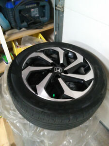2016 Honda Accord 17 in Alloy Rims are Tires