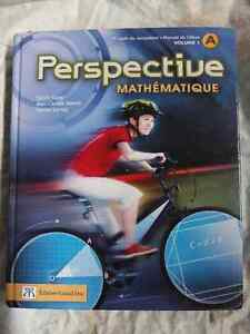 Perspective mathématique:1er cycle du secondaire