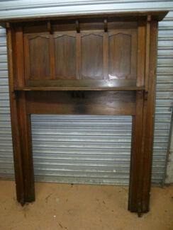 Antique Victorian / Edwardian Fireplace Mantel /Mantelpiece (FP1)