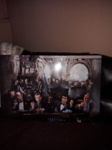 Scarface/Goodfellos/Godfather/Sopranos Man Cave Picture