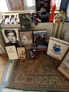 Leonard Cohen Collection of his works.